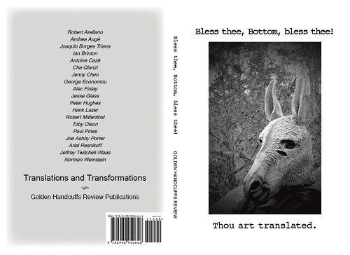Bless thee, Bottom, bless thee! anthology by Golden Handcuffs Review Publications